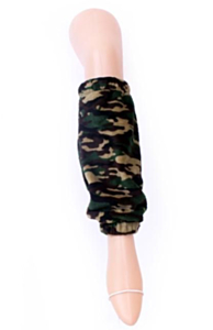 Softy beenwarmers camouflage print