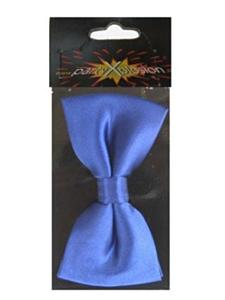 Luxe strik satijn blauw