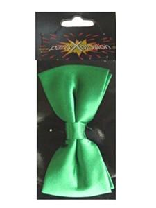 Luxe strik satijn groen