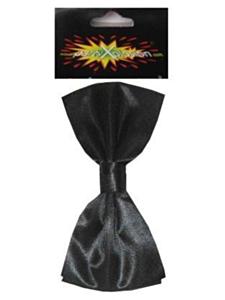 Charlystrik satijn zwart
