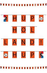 Retro vlaggenlijn hup holland hup 10m