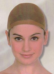Haarkapje dames bruin