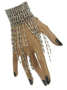 Armband zilver met steentjes