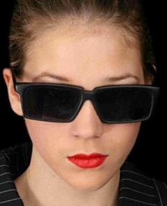 Achteruitkijkbril / spyglasses