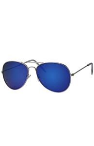 Pilotenbril blauw