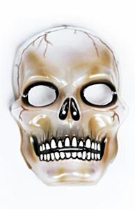 Masker transparant skull (halloween)