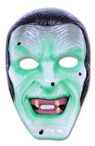Masker transparant zombie vampier