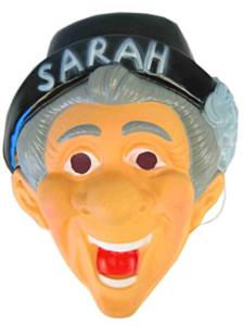 Masker plastic sarah + hoed