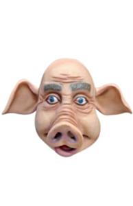 Masker rubber varkenskop luxe
