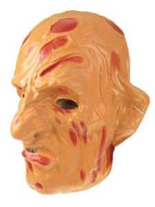 Masker freddy plastic (Halloween)