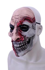 Horror masker latex half dood