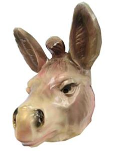 Masker ezel plastic volwassen