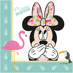 Servetten Minnie Tropical