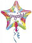 Folieballon Rainbow Congrats
