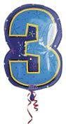 Folieballon Junior Shape 3