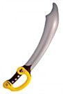Opblaas Piraten zwaard 73cm