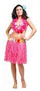Hawai Rok 45cm Roze