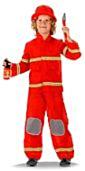 Brandweerman 3 delig kindermaat S