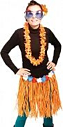 Hawai Rok 45cm Oranje