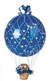 Raffia Net voor 90cm Ballon