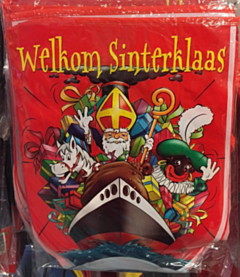 Welkom Sinterklaas vlaggenlijn