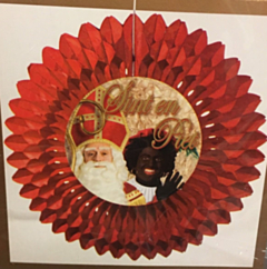 Sinterklaas decoratie waaier