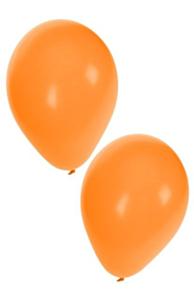 Ballonnen oranje 100st