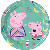 Peppa Pig bordjes groen