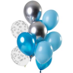 Ballonnen Aquamarine 30cm