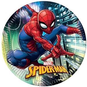 Marvel Spiderman 8 papieren borden 23cm