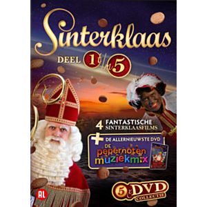 DVD collectie Sinterklaas (5 dvd's)